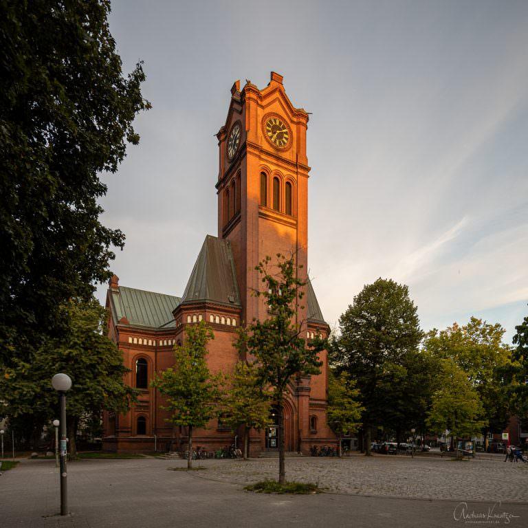 Apostelkirche in Hamburg Eimsbuettel