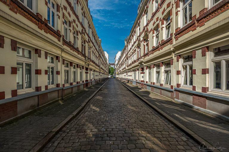 Beckstraße in der Sternschanze