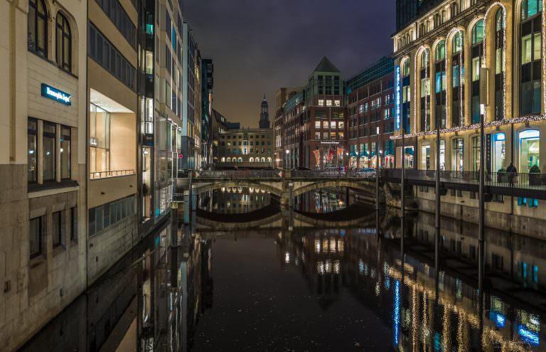 Bleichenfleet in Hamburg