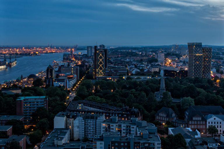 Blick auf den St. Pauli