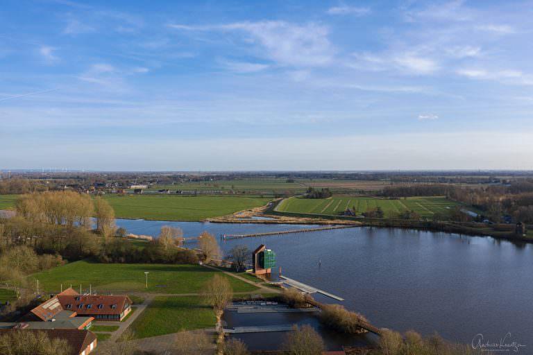 Blick auf die Dove Elbe