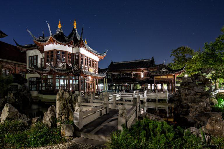 Chinesisches Teehaus