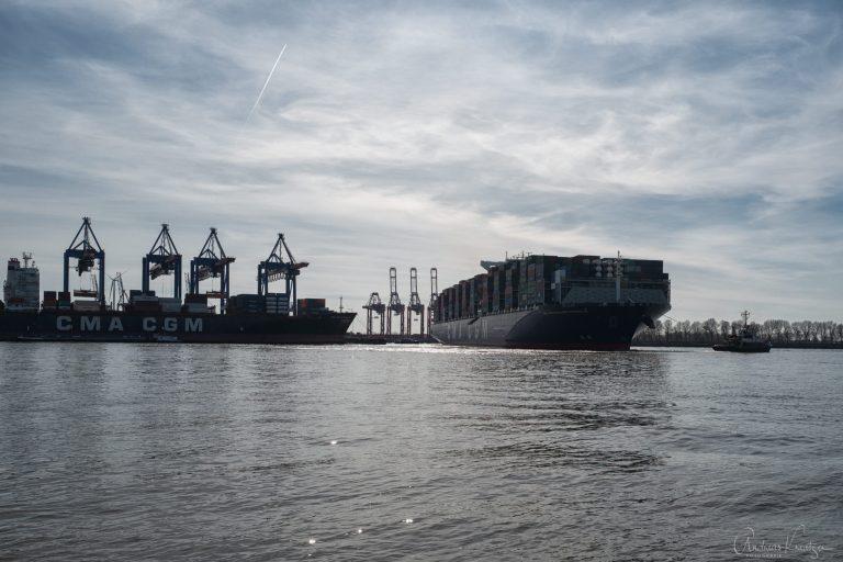 Containerschiff Benjamin Franklin