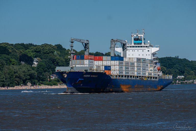 Containerschiff Maersk Nijmegen