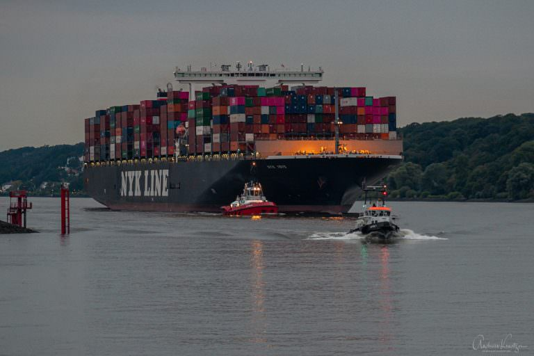 Containerschiff Nyk Ibis
