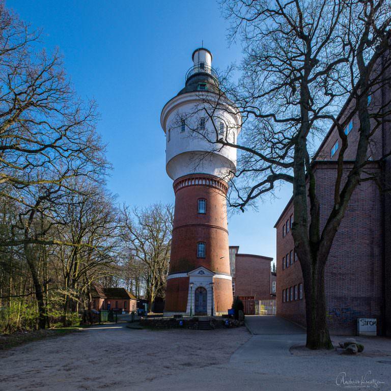Ehemalige Wasserturm von Bergedorf