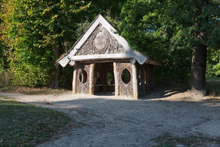 Eierhütte im Jenisch Park