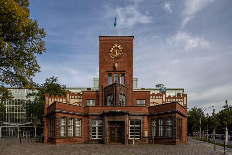 Eingangsgebäude der Margarinefabrik Voss