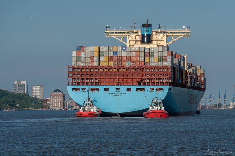 Eleonora Maersk in Hamburg