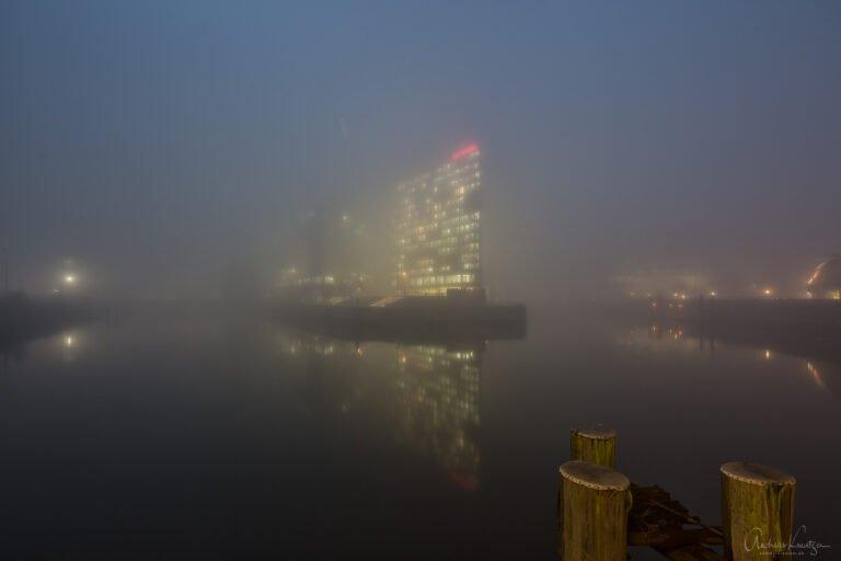 Ericusspitze im Nebel