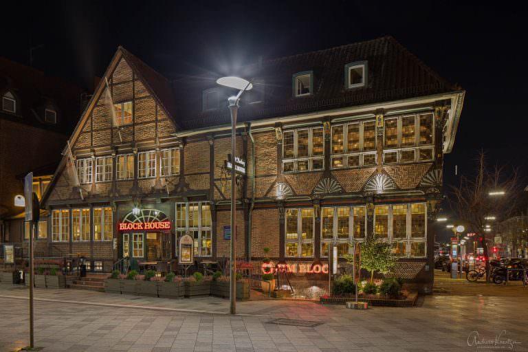 Historisches Fachwerkgebäude am Sachsentor in Bergedorf