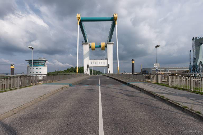 Hub-Brücke Cranzer Hauptdeich