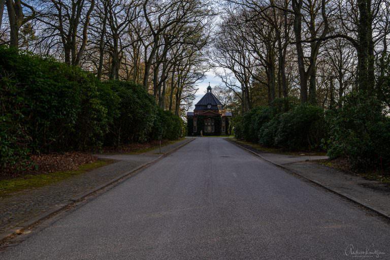 Kapelle I auf dem Bergedorfer Friedhof