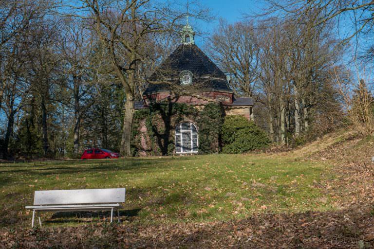 Kapelle vom Friedhof in Bergedorf
