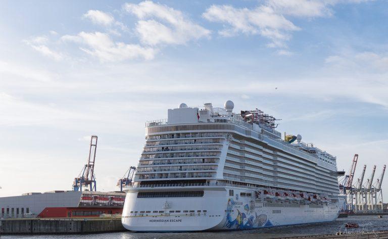 Norwegian Escape in Hamburg