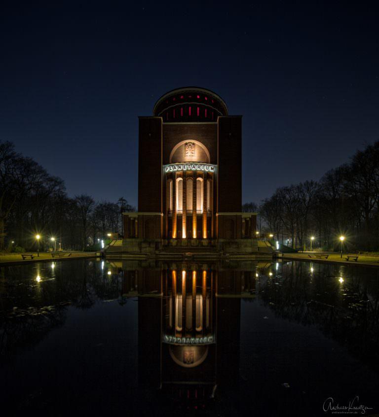 Planetarium in Hamburger Stadtpark.
