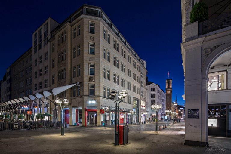 Poststrasse in Hamburg