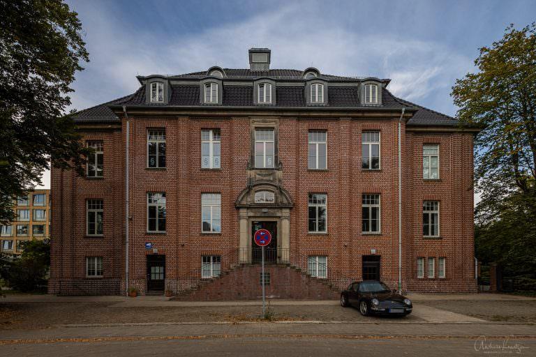 Quartier 21 - ehemalige Gebäude vom Krankenhaus Barmbek