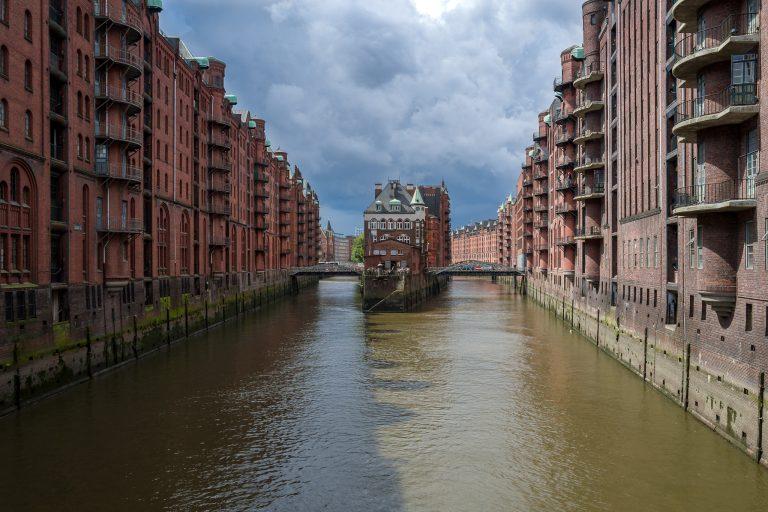 Wasserschloss in der Hamburger Speicherstadt