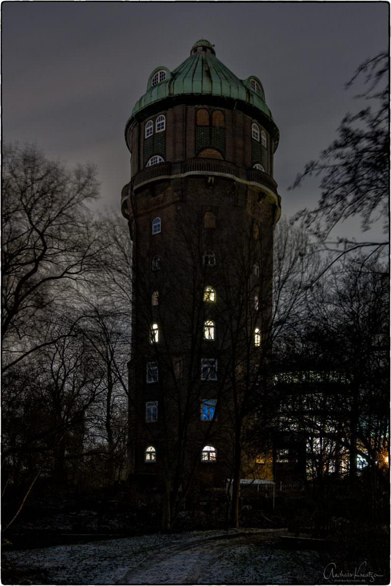 1910/1911 erbauter Wasserturm in Hamburg Wilhelmsburg