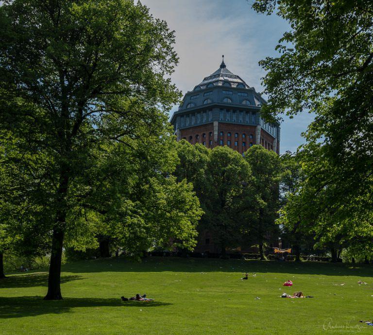 Wasserturm im Schanzenpark