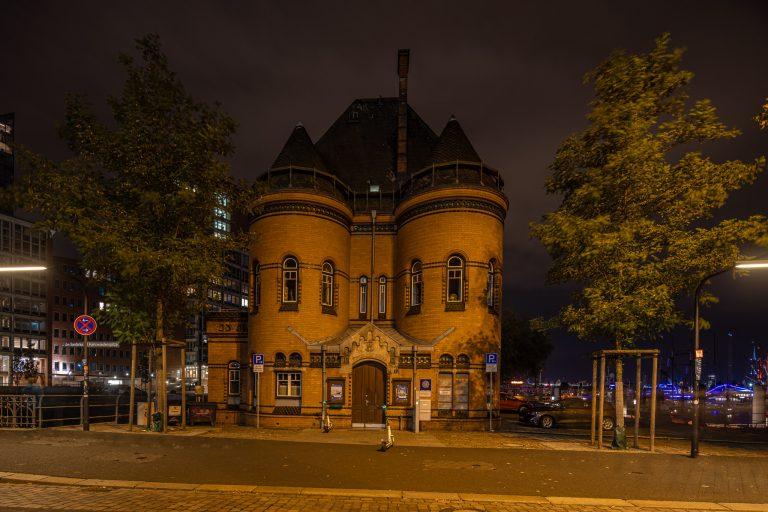 Alte Polizeiwache in der Hamburger Speicherstadt