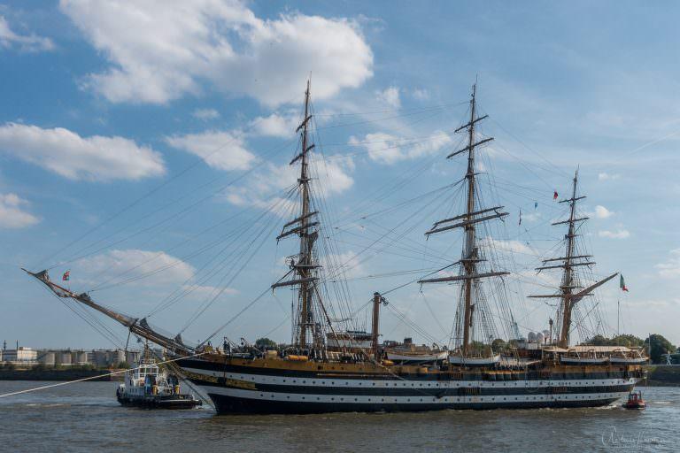 Amerigo Vespucci in Hamburg