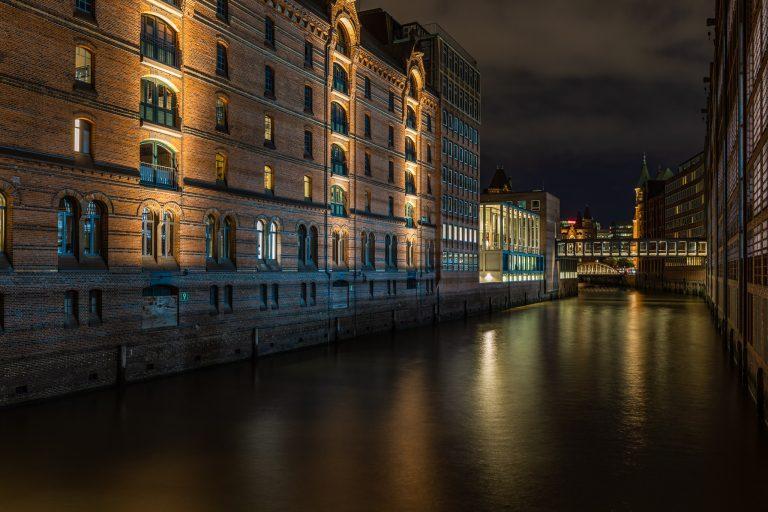 Brooksfleet in der Hamburgher Speicherstadt