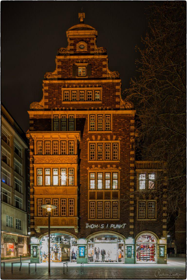 Hulbe Haus in der Hamburger Mönkebergstraße