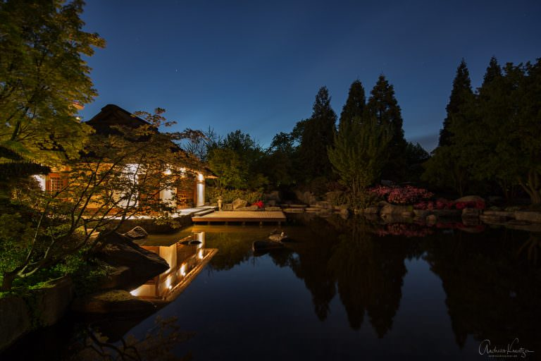 Japanisches Teehaus in Planten un Blomen