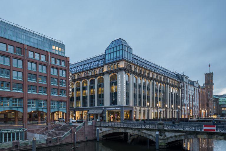 Kaufmannshaus in Hamburg