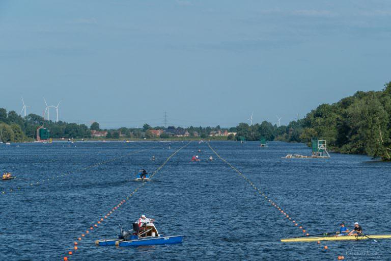 Regattastrecke Dove Elbe