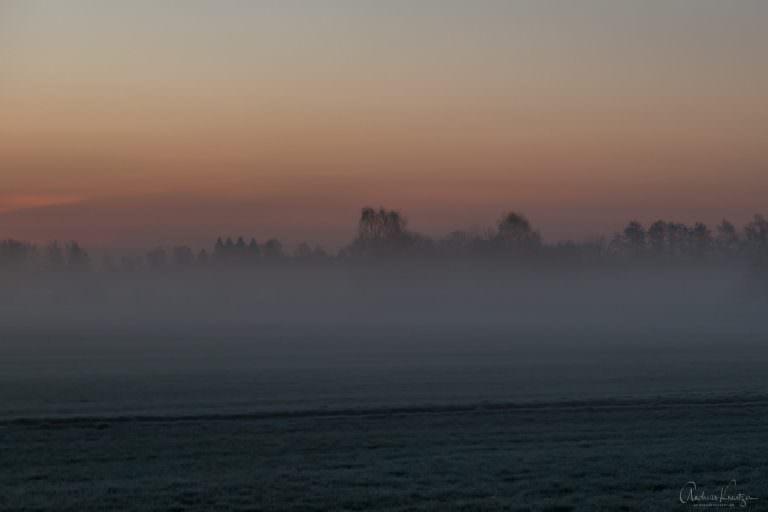 Sonnenaufgang in Altengamme