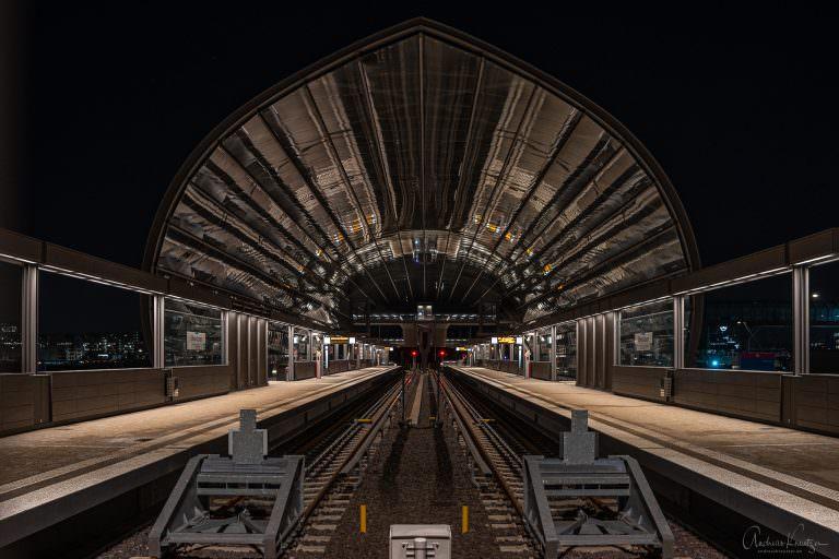 U Bahn Station Elbrücken