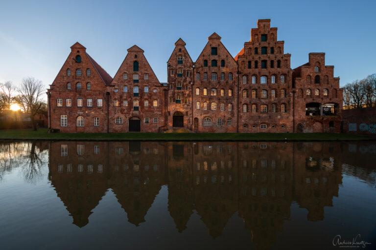 Alte Salzspeicher in Lübeck