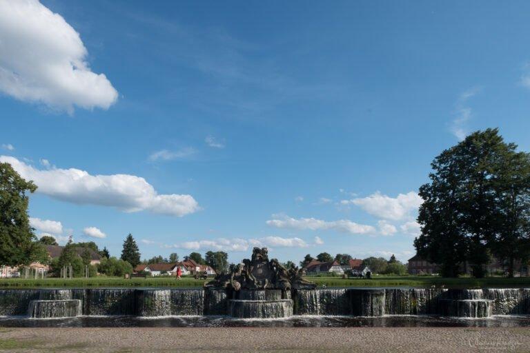 Brunnen am Schloss Ludwigslust