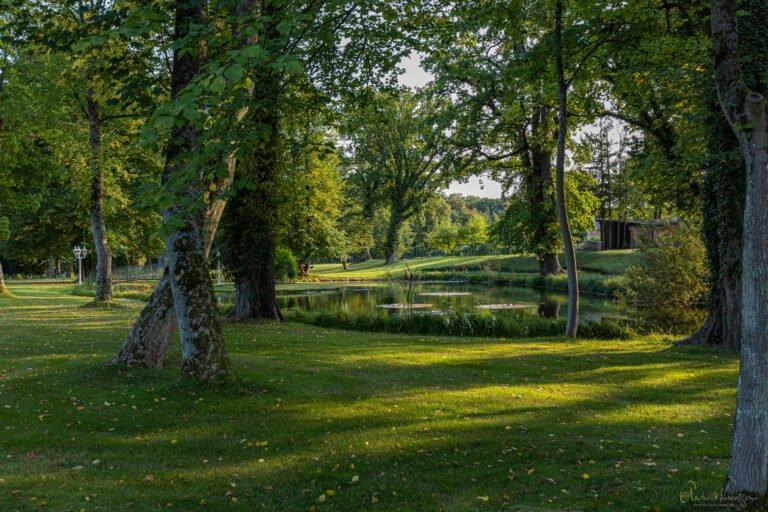 Park vom Schloss Tüschow